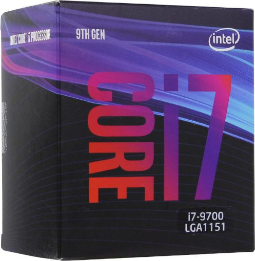 LGA1151v2 Intel Core i7-9700 (Gen.9) (3.00 Ghz 12M, DDR4) BOX