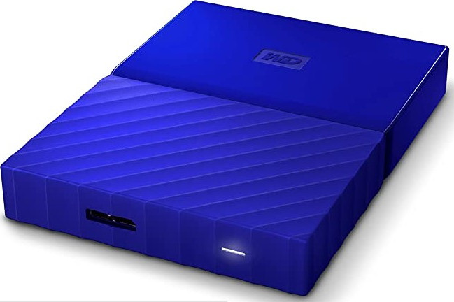 "Внешний жёсткий диск2000GB Western Digital 2,5"" (My Passport Blue) USB 3.0 (WDBS4B0020BBL-WESN)"