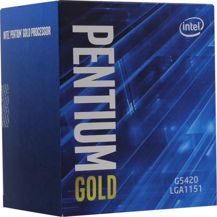 LGA1151v2 Intel  Pentium Gold G5420 (Gen.8) (2 Core 3.80 Ghz 4M, DDR4) BOX