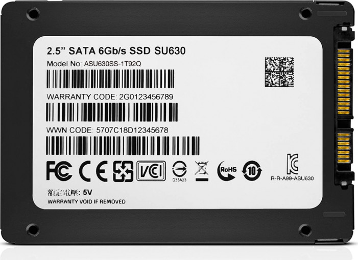 "Диск SSD2.5"" 960Gb ADATA Ultimate SU630 series SATA3 (6Gb/s) (ASU630SS-960GQ-R)"