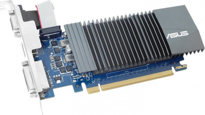 Видеокарта   ASUS GeForce 710 SILENT Low Profile GDDR5 1024MB 32-bit (LP) (GT710-SL-1GD5-BRK)