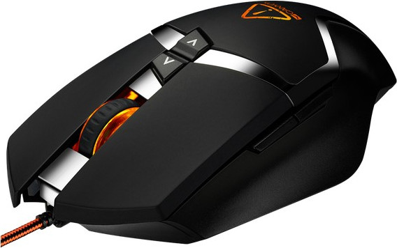 Мышь CANYON Wired gaming mouse programmable, Sunplus 189E2 IC sensor, DPI up to 4800 adjustable by s